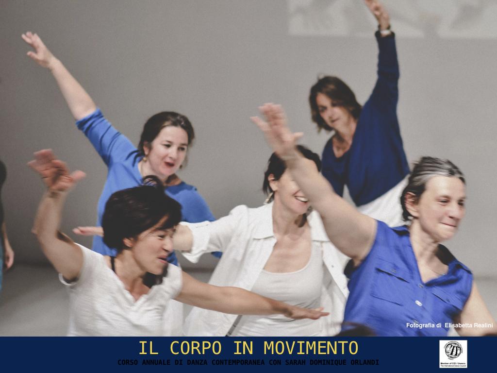 danza contemporanea corso di Sarah dominique orlandi